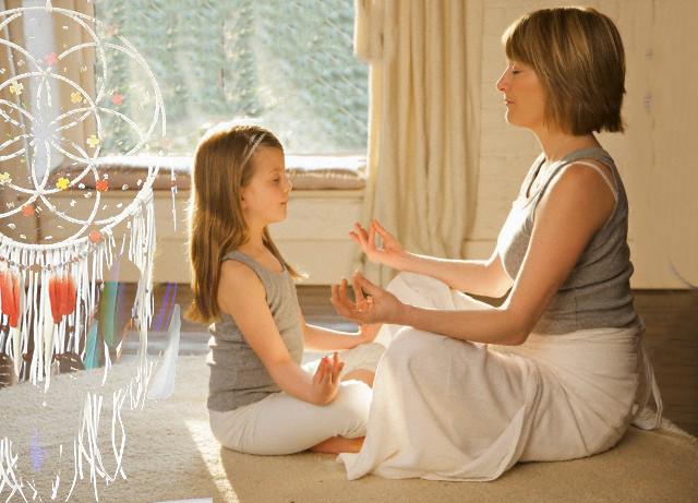 Anya és Lánya jóga